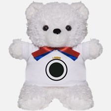 SSI - I Corps with Text Teddy Bear