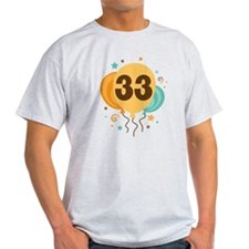 33rd Birthday Party T-Shirt