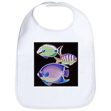 Cute Tropical aquarium Bib