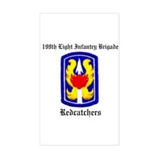 199th Light Infantry Brigade Decal