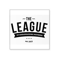League of Embarrassing Mothers Sticker