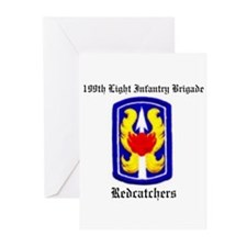 199th Light Infantry Greeting Cards (Pac