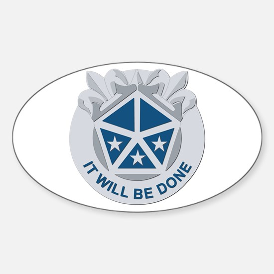 DUI - V Corps Sticker (Oval)