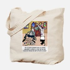 Church Has Kazooist Tote Bag