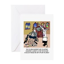 Church Has Kazooist Greeting Card