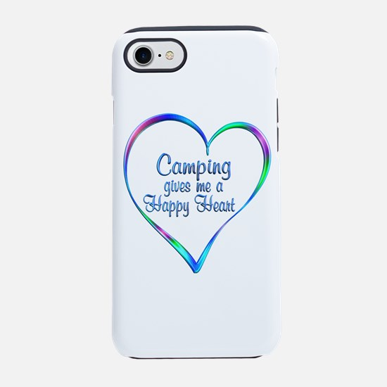 Camping Happy Heart iPhone 7 Tough Case