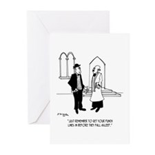 Punchlines in Church Greeting Cards (Pk of 10)