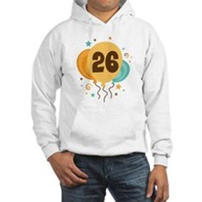 26th Birthday Party Hoodie