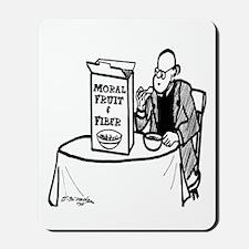 Moral Fruit and Fiber Cereal Mousepad