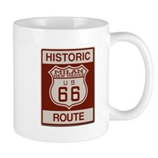Milan New Mexico Route 66 Mugs