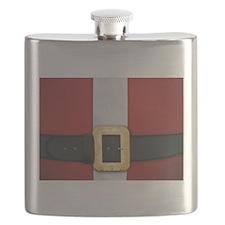 Santa Suit Christmas Flask