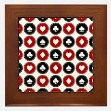 Poker Framed Tile