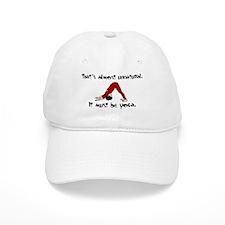 Unnatural Yoga Baseball Cap