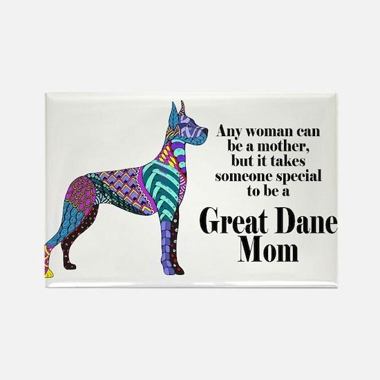Great Dane Mom Magnets