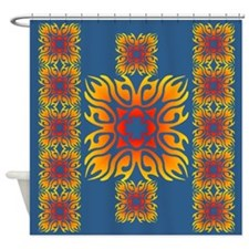 Hot Tiles Shower Curtain