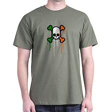 Irish Punk Skull T-Shirt