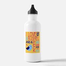 A Bushel & A Peck Water Bottle