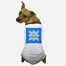 Ski Oregon Snowflake Dog T-Shirt