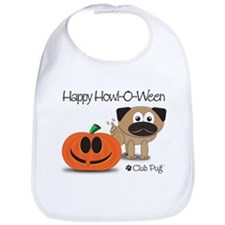 Happy Howl-O-Ween Bib