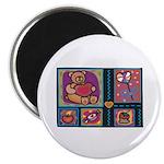 Valentine Bear Heart Magnet