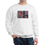 Valentine Bear Heart Sweatshirt