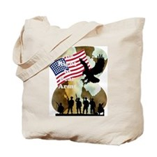 camouflage troop support Tote Bag
