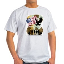 camouflage troop support T-Shirt
