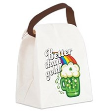 Beer is Better than Gold Canvas Lunch Bag