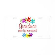 Special Grandma Aluminum License Plate