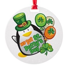 1st St. Patty's Day Ornament