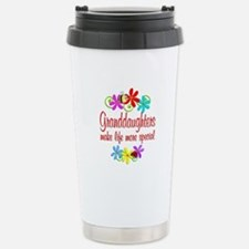 Special Granddaughter Stainless Steel Travel Mug