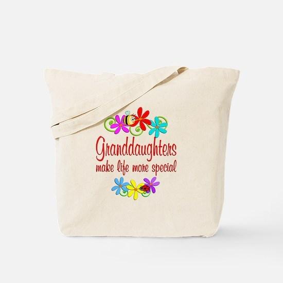 Special Granddaughter Tote Bag