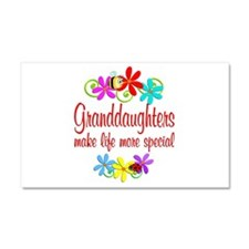 Special Granddaughter Car Magnet 20 x 12