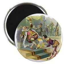 Vintage Old King Cole Magnet