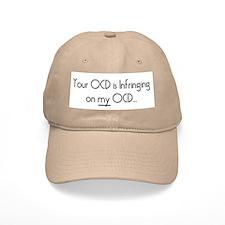 Your OCD..My OCD Baseball Baseball Cap