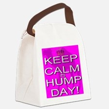 Keep Calm It's Hump Day! Canvas Lunch Bag