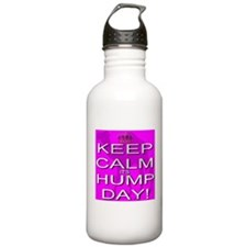 Keep Calm It's Hump Day! Water Bottle