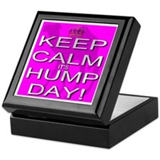 Keep Calm It's Hump Day! Keepsake Box