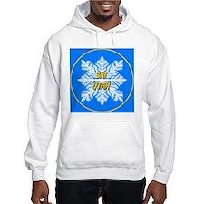 Ski Utah Snowflake Hoodie