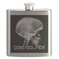 Disc Golf on the Brain Flask