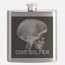 Disc Golf on the Brain Flask