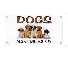 DOG HAPPY Banner
