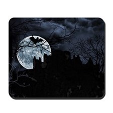 Spooky Night Sky Mousepad
