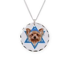 Hanukkah Star of David - Yorkie Necklace