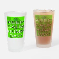 Keep Calm It's Hump Day! Drinking Glass