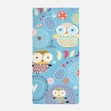 Cute Owls Beach Towel