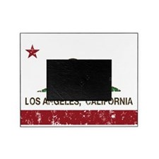 california flag los angeles distressed Picture Frame