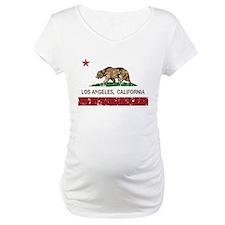 california flag los angeles distressed Shirt