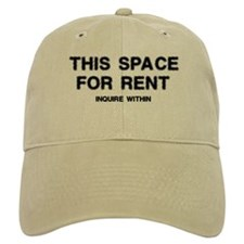 This Space For Rent Baseball Cap