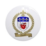 LOISIER Family Crest Ornament (Round)